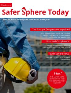 Safer Sphere Today, CDM Advisor, Prinicpal Designer Advisor, North West, Construction Health and Safety